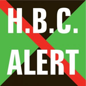 H.B.C. Alert logo